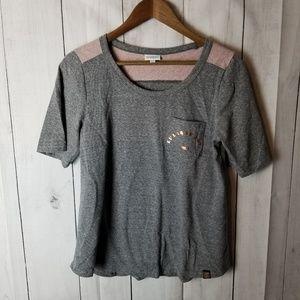 Lularoe Pink and Grey T-Shirt